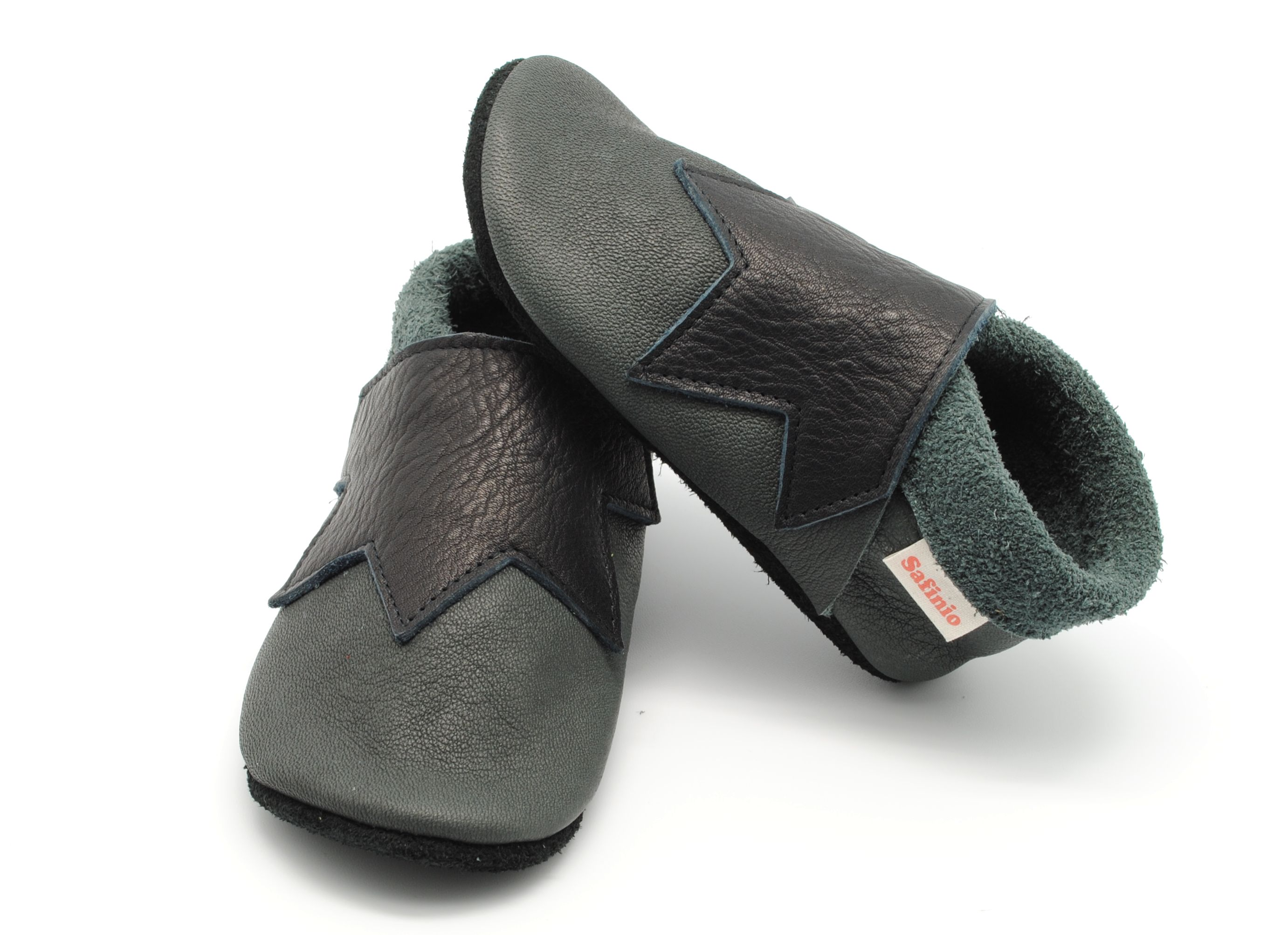 Baby shoes Babybooties ve able tanned leather Milestones